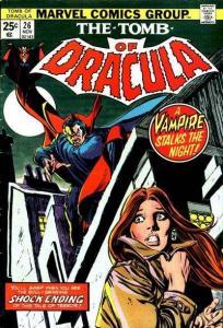 Tomb of Dracula (1972 series) #26, VG (Stock photo)