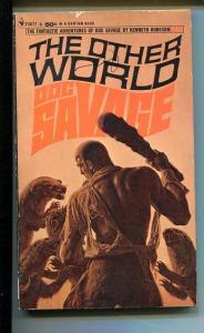 DOC SAVAGE-THE OTHER WORLD-#29-ROBESON-G/VG-JAMES BAMA COVER-1ST EDITION G/VG