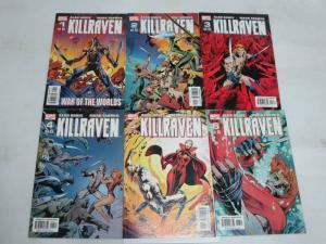 KILLRAVEN  (2002) 1-6  War Of The Worlds Alan Davis