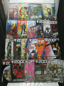 2000 AD Magazine Lot! 22Diff from Prog 1975-97 Judge Dredd and UK Scifi Horror