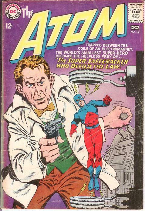 ATOM 15 FAIR  November 1964 COMICS BOOK