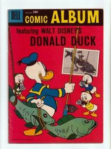 Comic Album #1 Walt Disney's Donald Duck Silver Age Dell Comics 1958 FN/VF