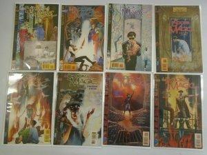 Books of Magic comic lot 8 different from #1-10 8.0 VF (1994 Vertigo)