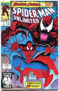Spider-Man Unlimited #1-First Maximum Carnage-Marvel 1993 NM-