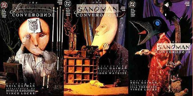 SANDMAN (1989) 38-40  Convergence  Neil Gaiman