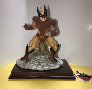The Marvel Collection 1989 WOLVERINE Statue With Cherry Base from 1989