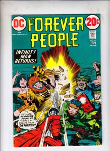 Forever People #11 (Nov-72) VF/NM High-Grade Big Bear, Beautiful Dreamer, Ser...