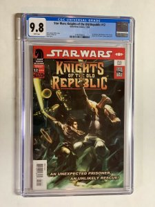 Star wars Knights of the old Republic 12 cgc 9.8 wp dark horse