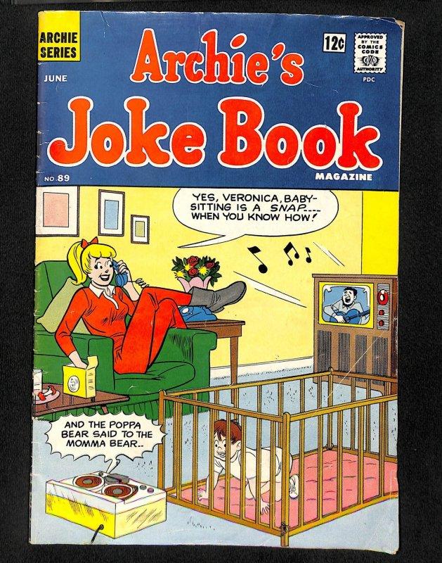 Archie's Joke Book Magazine #89 (1965)