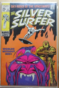 The Silver Surfer #6 (1969) VF