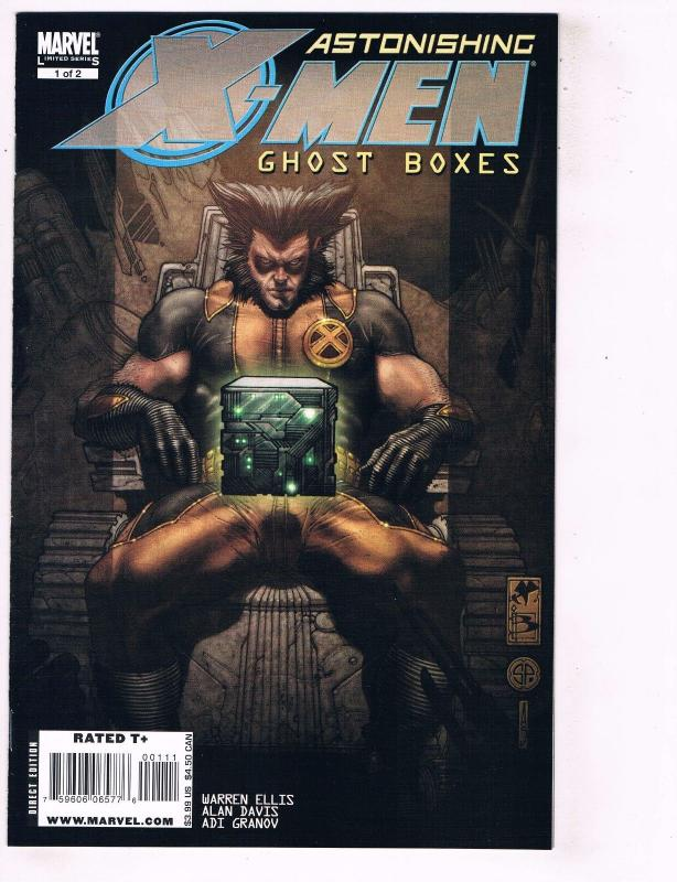 Astonishing X-Men Ghost Boxes Complete Marvel Comics Limited Series # 1 2  TW21