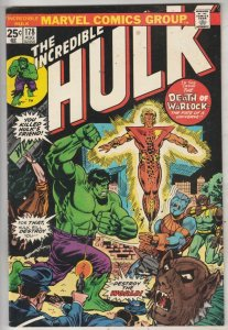 Incredible Hulk #178 (Aug-74) VF/NM+ High-Grade Hulk