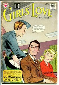 Girls' Love #83 1961 DC-airline stewardess cover-passion-heartbreak-VG