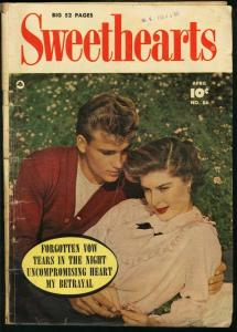 SWEETHEARTS #86-RARE FAWCETT ROMANCE-PHOTO COVER G