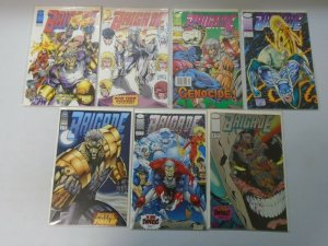 Brigade #0-9 (1st + 2nd Series) Image Comics 13 Diff Books 8.0 VF (1992-1993)