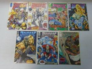 Brigade #0-9 (1st + 2nd Series) Image Comics 13 Diff Books 8.0 VF (1992-1993)