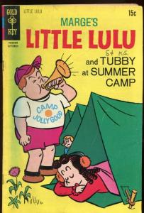 MARGE'S LITTLE LULU #197-SUMMER CAMP COVER VG/FN