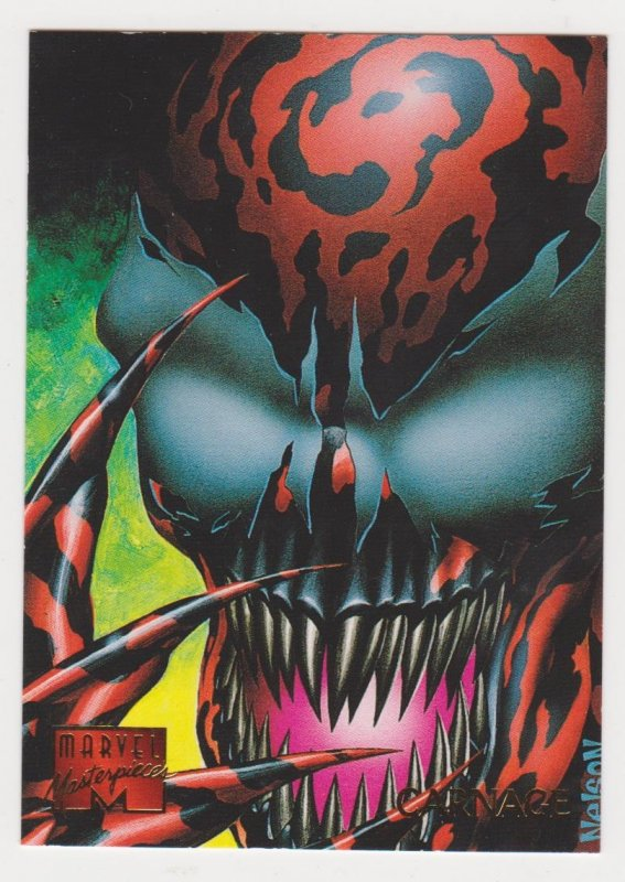 1995 Marvel Masterpieces #20 Carnage