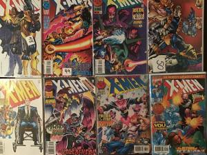 X-MEN 1992 MARVEL 8 BOOK LOT #48,49.50,55,56.57.65.66 AWESOME COPIES