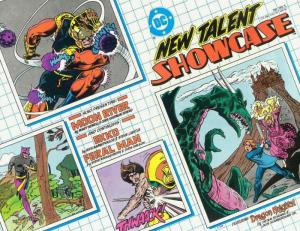 New Talent Showcase #5 VF; DC | save on shipping - details inside