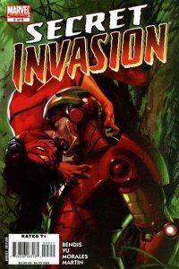 Secret Invasion #3, NM + (Stock photo)
