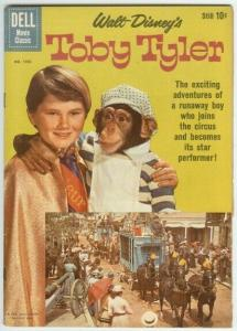 TOBY TYLER (1960 DELL) F.C.1092 G-VG PHOTO COVER COMICS BOOK