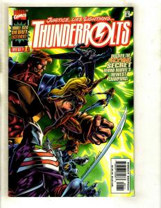 Thunderbolts # 1 NM Marvel Comic Book 1997 Avengers Hulk Thor Iron Man GK4