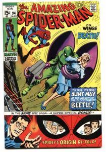 AMAZING SPIDER-MAN #94-Origin issue-comic book VF-