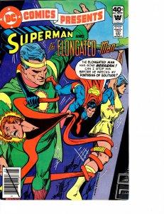DC Comics Presents (1978) #21 Fine (6.0) Whitman Cover