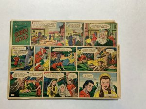 Robin Hood Newspaper Comic Strip 7/13/1952-12/28/1952 Complete Disney