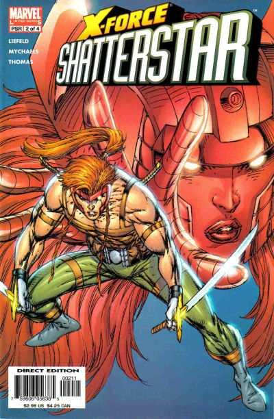 X-Force: Shatterstar #2, NM- (Stock photo)