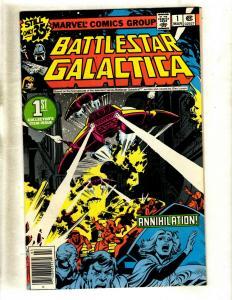 Lot Of 8 Battlestar Galactica Marvel Comic Books # 1 2 3 8 11 17 20 22 WS10