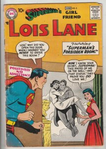 Lois Lane, Superman's Girlfriend  #2 (Jun-58) VG+ Affordable-Grade Superman, ...