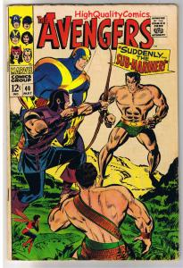 AVENGERS 40, VG+, Captain America, Hercules, Don Heck, 1963, more in store