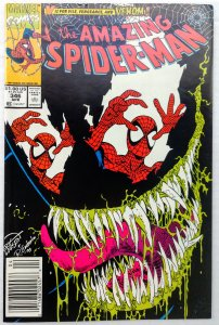 The Amazing Spider-Man #346 NEWSSTAND (VF/NM)(1991)