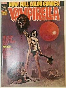 VAMPIRELLA#25 FN- 1973 WARREN BRONZE AGE MAGAZINE