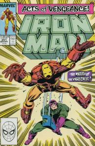 IRON MAN 251-332, 25-Different, The Invincible Iron Man