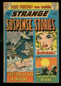 STRANGE SUSPENSE STORIES #44 1959-CHARLTON-WITCH STORY VG