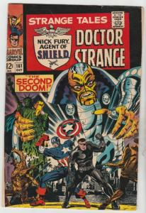 Strange Tales #161 (Oct-67) VF- High-Grade Nick Fury, Dr. Strange