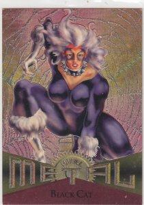 1995 Fleer Marvel Metal BLACK CAT #70  Card
