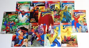 SUPERMAN Comic Book Lot of 12 (issues) DC Comics - see more comic lots (cl#03)