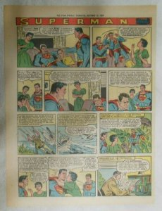Superman Sunday Page #1041 by Wayne Boring from 10/11/1959 Tabloid Page Size