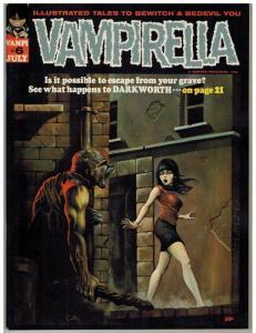 VAMPIRELLA 6 VF+ July 1970