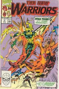 New Warriors (1990 series) #5, VF (Stock photo)