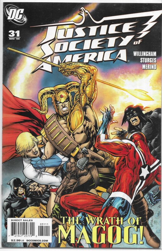 Justice Society of America (vol. 3, 2007) #31 VF (Bad Seed 3) Willingham