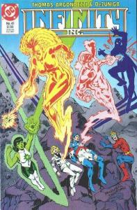 Infinity Inc. (1984 series) #41, Fine- (Stock photo)