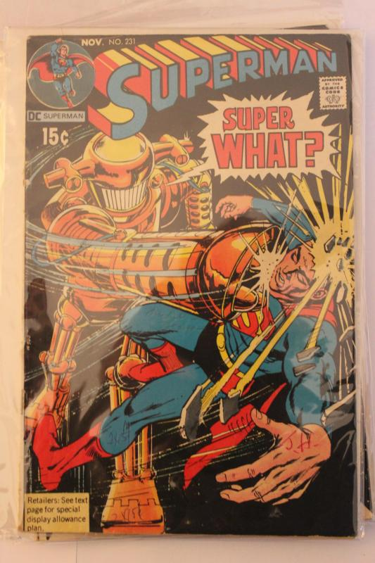 Superman 231 FN/VF