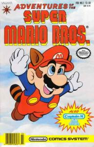 Adventures of the Super Mario Bros. #1 FN; Valiant | save on shipping - details