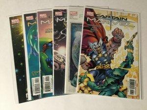 Captain Marvel 7-12 7 8 9 10 11 12 Volume 2 Lot Nm Near Mint Marvel