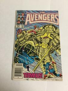 Avengers 257 Vf Very Fine 8.0 Marvel